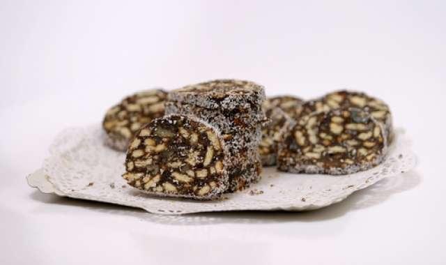 Κορμός - μωσαϊκό σοκολάτας