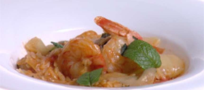 Γαρίδες γιουβέτσι - θαλασσινά - νηστίσιμα