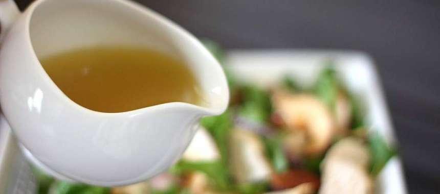 Βινεγραίτ μυρωδικών για πράσινη σαλάτα- Vinegraitte