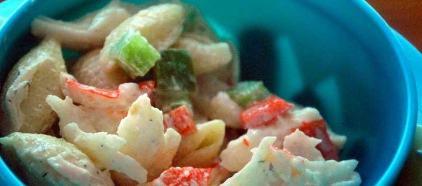 Σαλάτα Καραϊβικής με καβουρόψιχα - www.sidages.gr