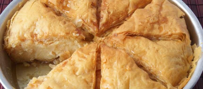 Γαλακτομπούρεκο - συνταγές μαγερικής & ζαχαροπλαστικής - www.sidages.gr