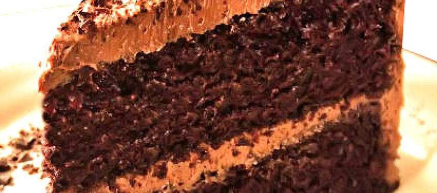 Κέικ σοκολάτας μόκα - συνταγές ζαχαροπλαστικής - γλυκά