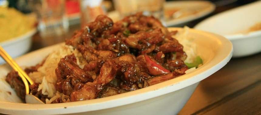 Κινέζικο κοτόπουλο 5 γεύσεων - συνταγές μαγειρικής - κινέζικο