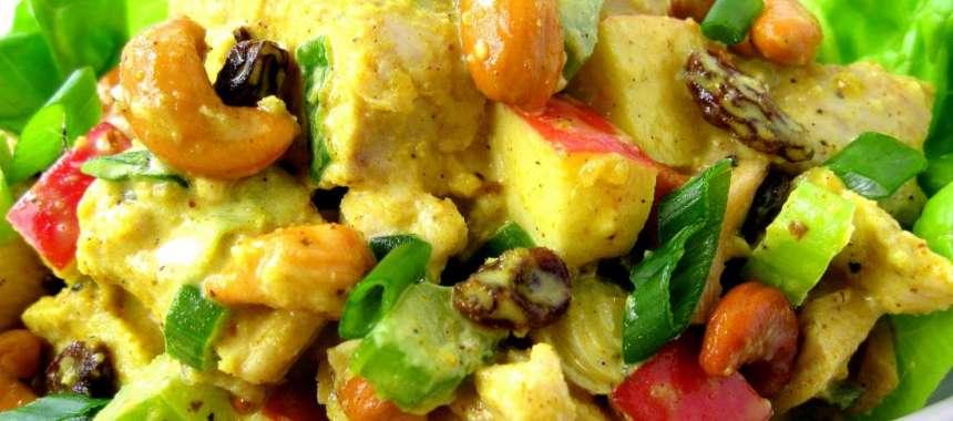 Κοτόπουλο κάρρυ με λαχανικά