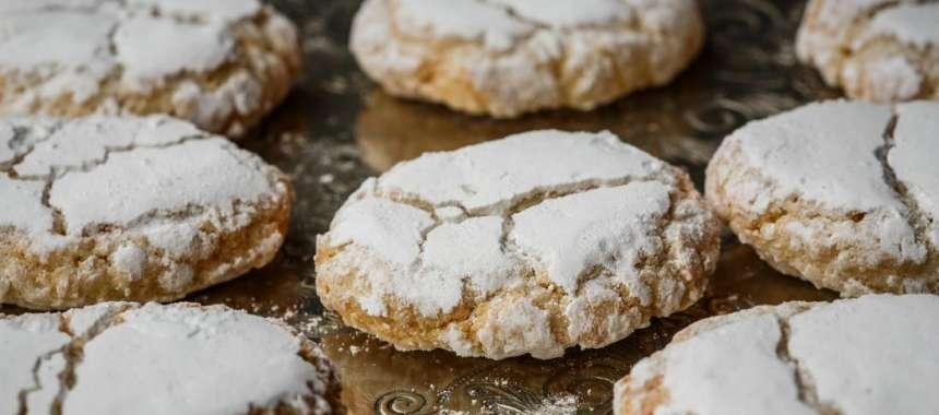 Κουραμπιέδες - συνταγές ζαχαροπλαστικής - χριστουγεννιάτικες