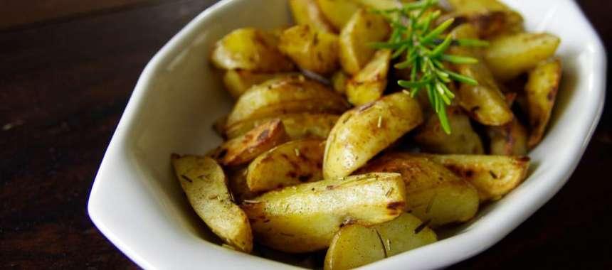 Πατάτες φούρνου τραγανές