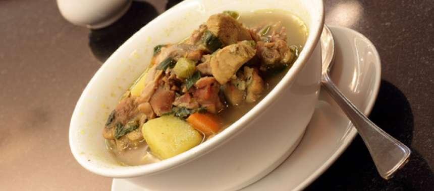 Κοτόσουπα αυγολέμονο - Συνταγές μαγειρικής & ζαχαροπλαστικής