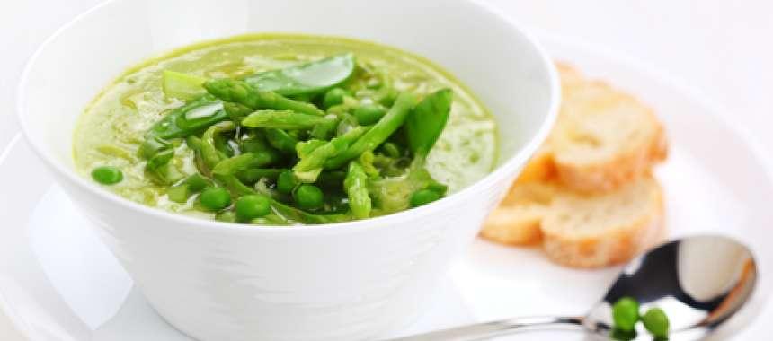 Σπαραγγόσουπα - συνταγές μαγερικής - www.sidages.gr
