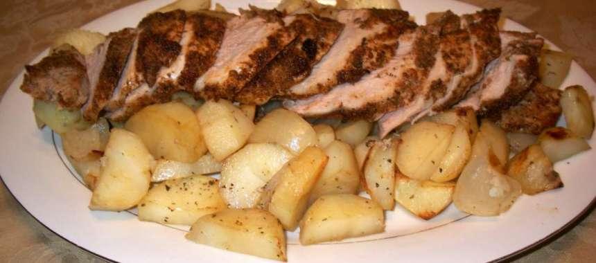 Χοιρινο λεμονατο - συνταγές - κρέατα